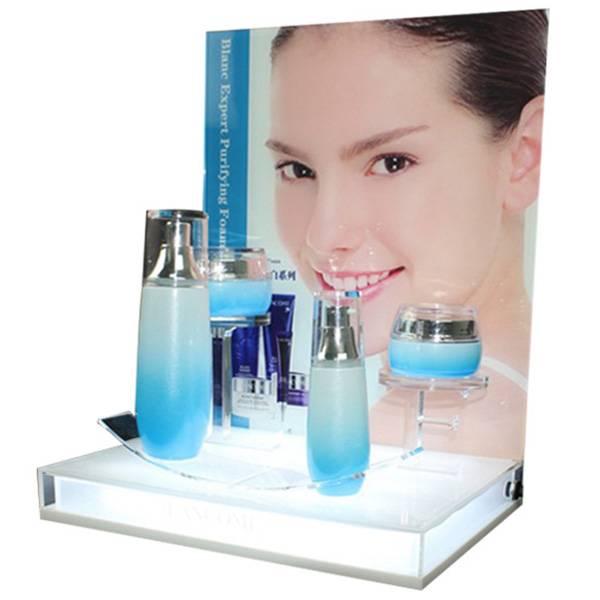 亞加力膠化妝品展示架