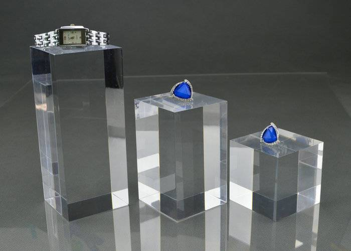 亞加力膠方柱 直立柱