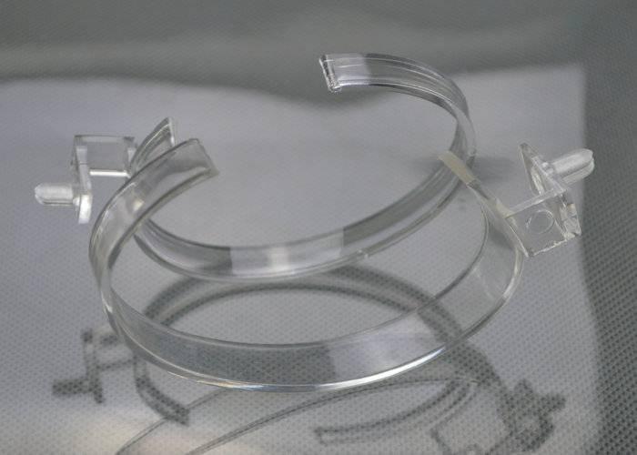 透明方塊手表膠座