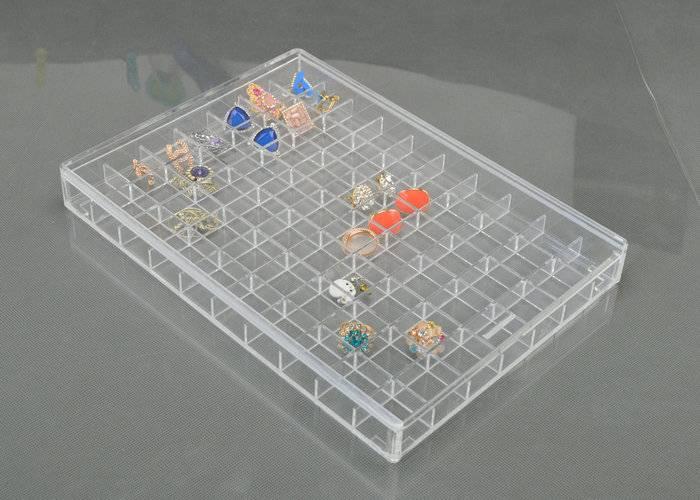 XH16 珠寶戒指透明亞加力膠盒