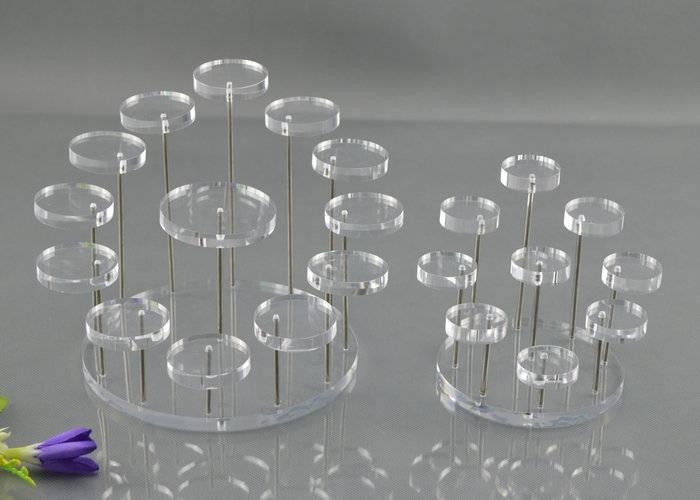 XH19 透明亞加力分層梯級膠架