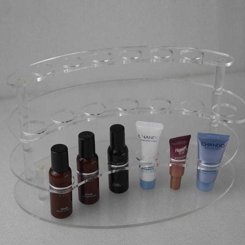 XH31 透明三層化妝品展架