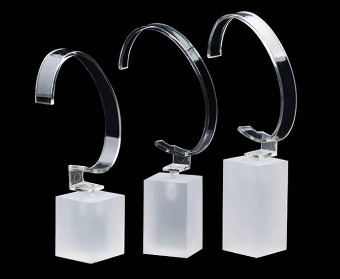 XH15 透明方塊手錶膠架
