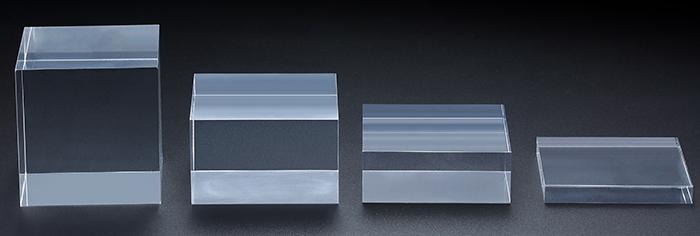 透明亞加力膠方磚頭