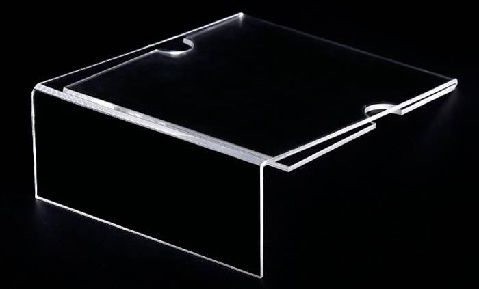XH215 攝紙L型展示架(帶手指位)
