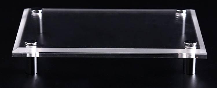 XH00217 廣告釘掛牆透明海報架