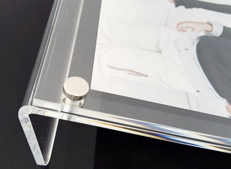 櫃枱L型亞加力相架