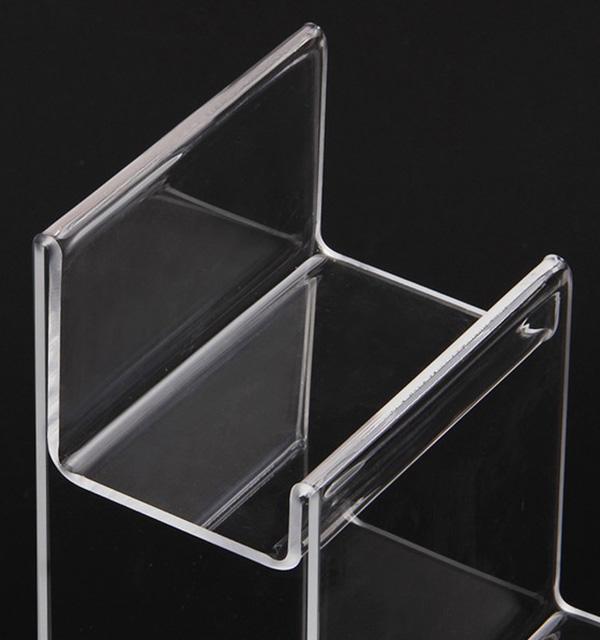 梯級多層透明膠商品架