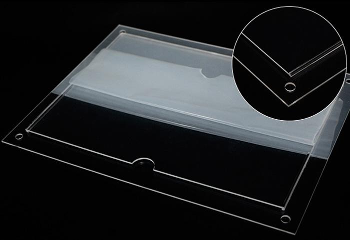 釘牆卡槽透明膠架