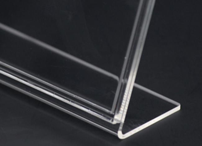 卡槽位攝紙L型展示架