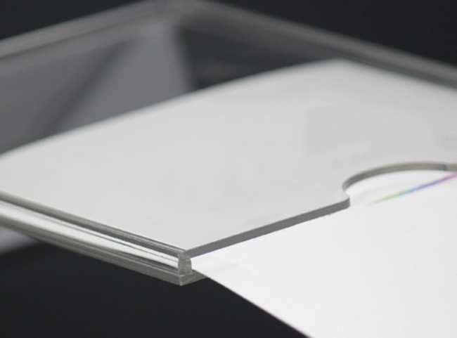 XH00222 卡槽位攝紙L型展示架