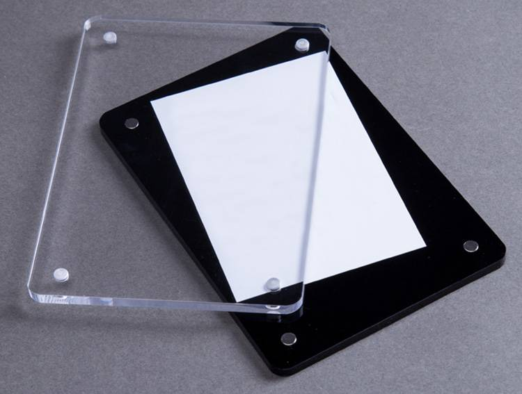 XH00226 黑配透明亞加力膠相架
