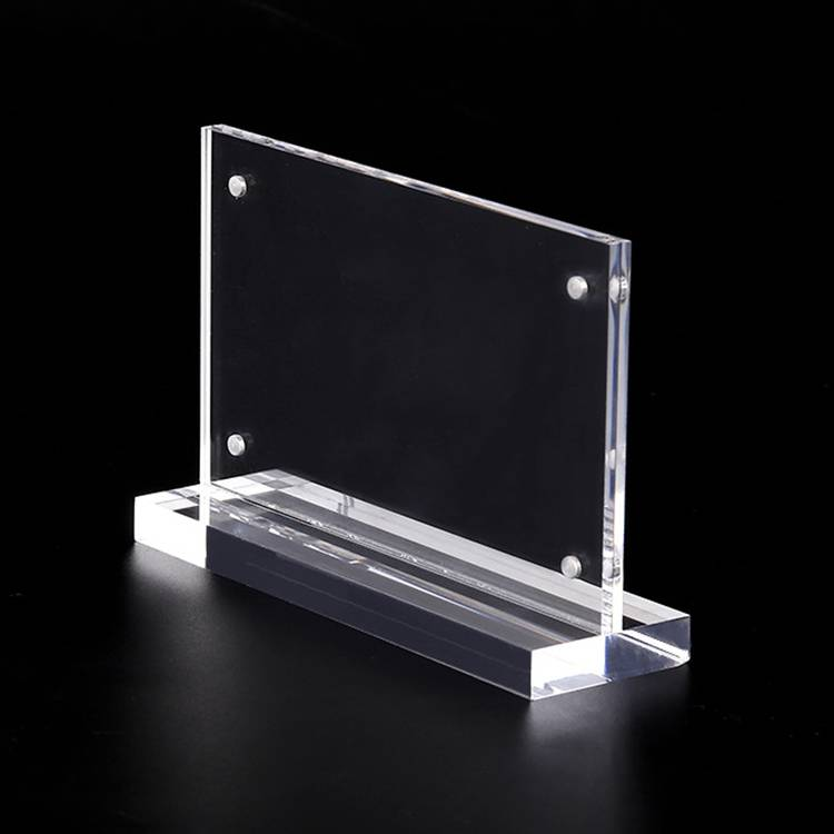 XH24 亞加力T型展示架(磁石)