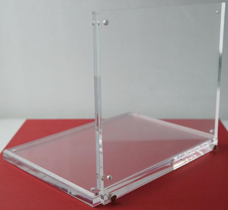 座檯L型亞加力產品陳列架