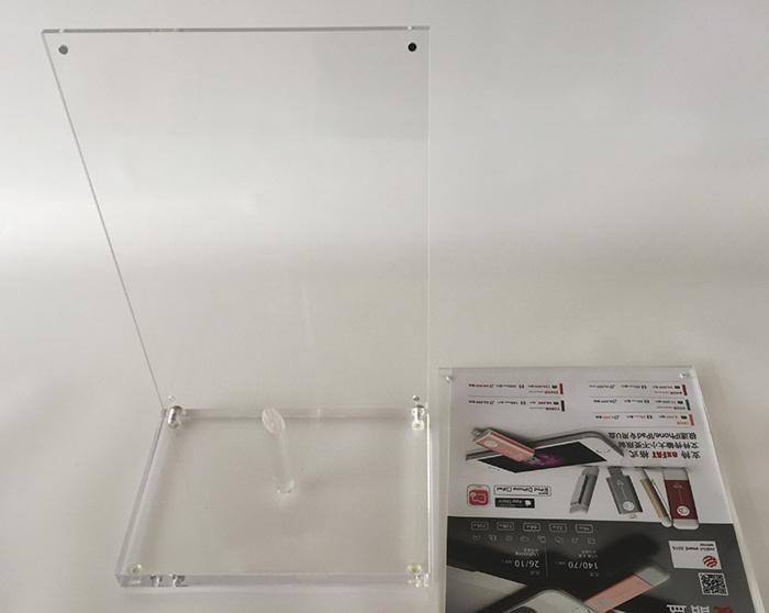 XH00242 可換畫面桌面L型展示架