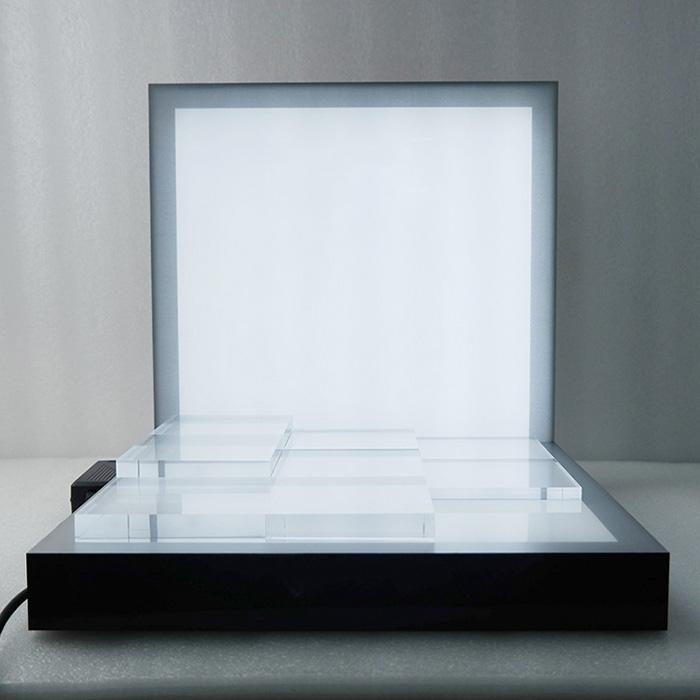 帶電LED發光展示架