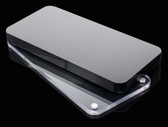 XH00244 圓角亞加力磁石相架(黑/白)