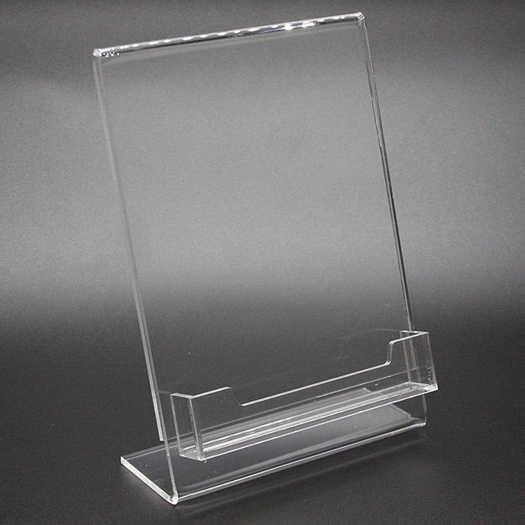 XH00246 透明帶托兜攝紙單張宣傳架