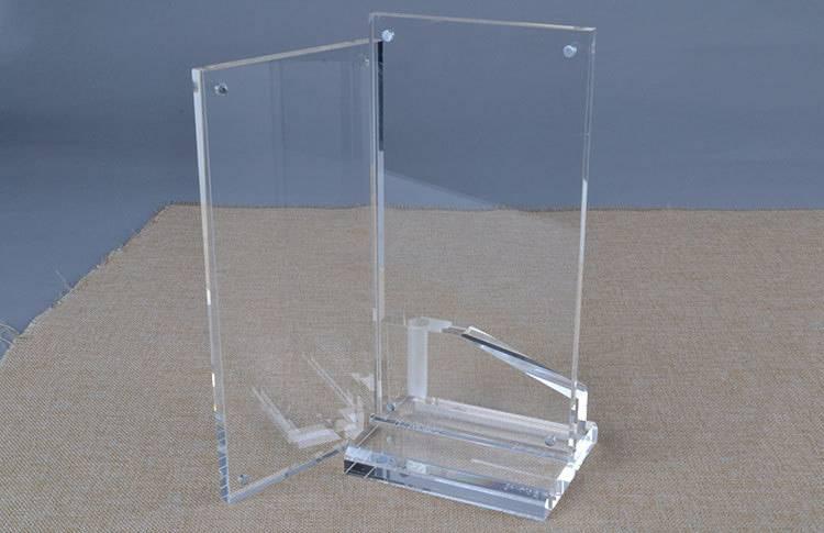透明T型磁石膠架