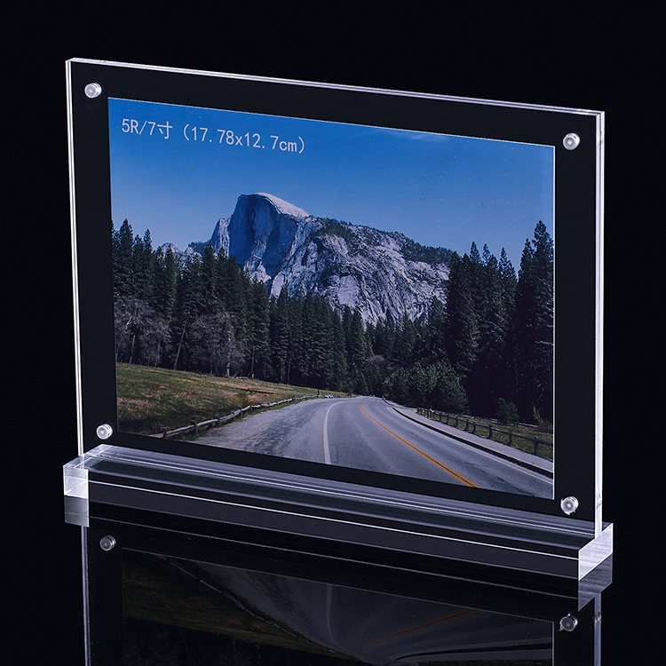 XH00251 透明磁石T型膠架