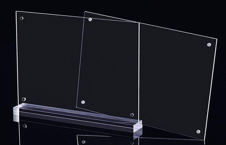 透明磁石T型膠架