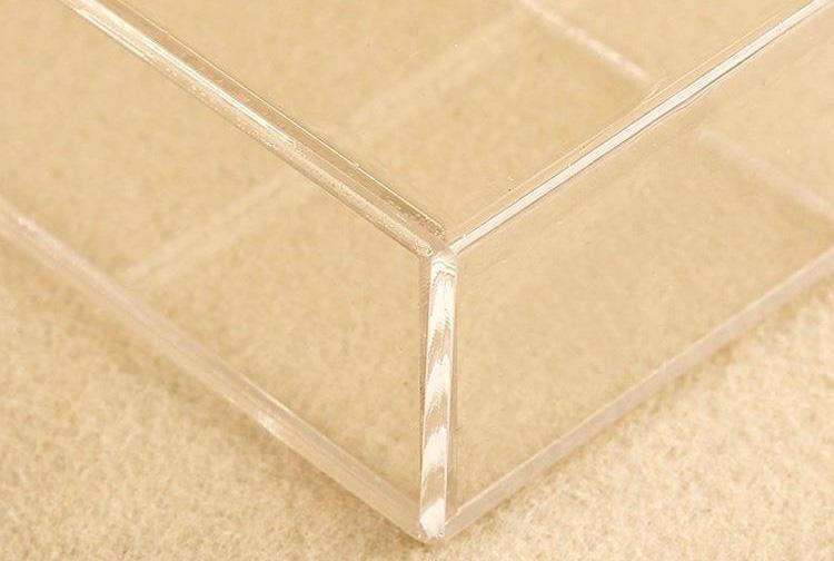 透明亞加力釘牆掛盒