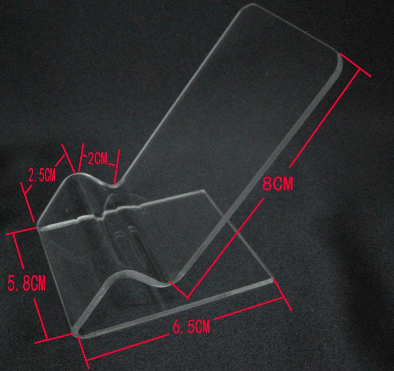 產品透明膠托架