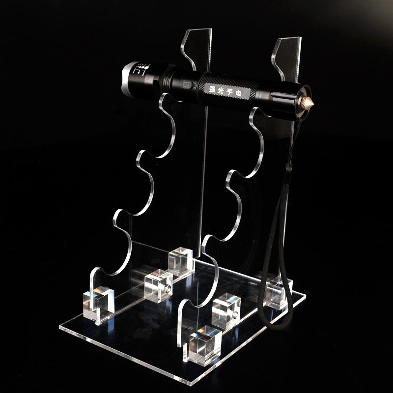 XH0137 透明亞加力電筒膠座