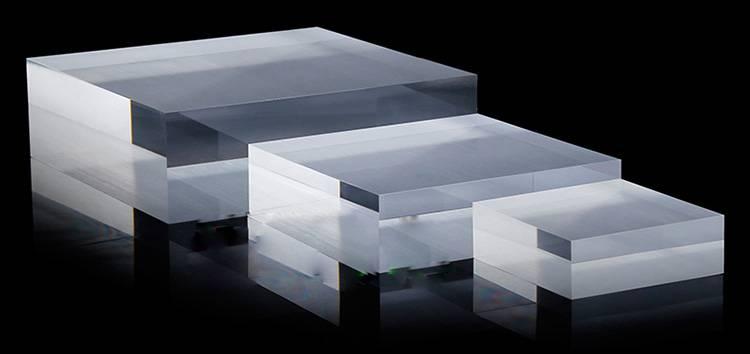 拉絲 / 透明亞加力方塊