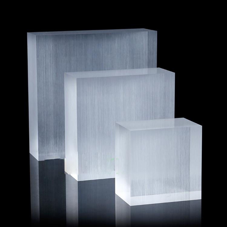 XH140 拉絲 / 透明亞加力方塊