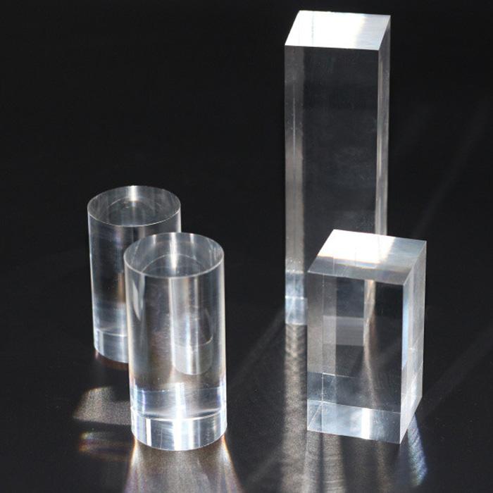 XH143 實芯透明膠圓棒