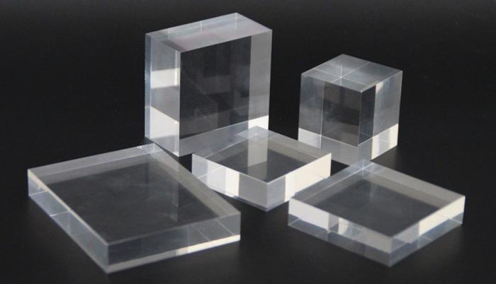 透明亞加力膠塊