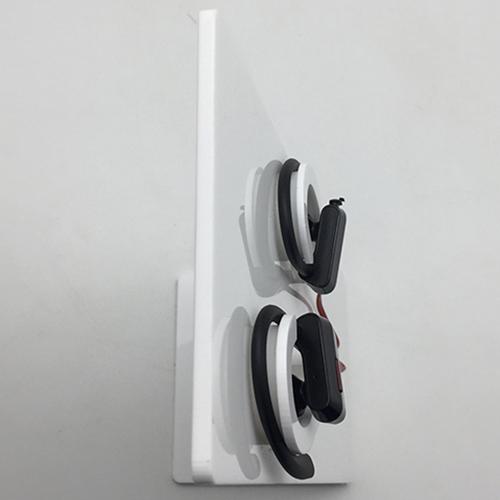 XH163 桌面L形耳機亞加力膠架