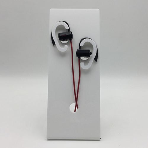 桌面L形耳機亞加力膠架