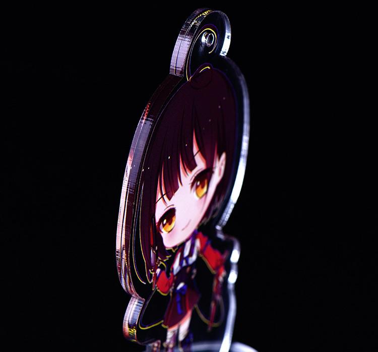 XH177 動漫卡通鑰匙扣亞加力企牌