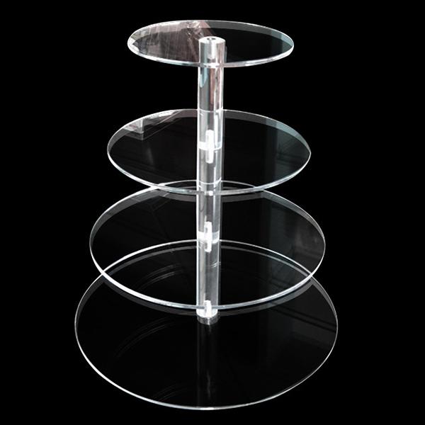 XH188 透明分層蛋糕膠架