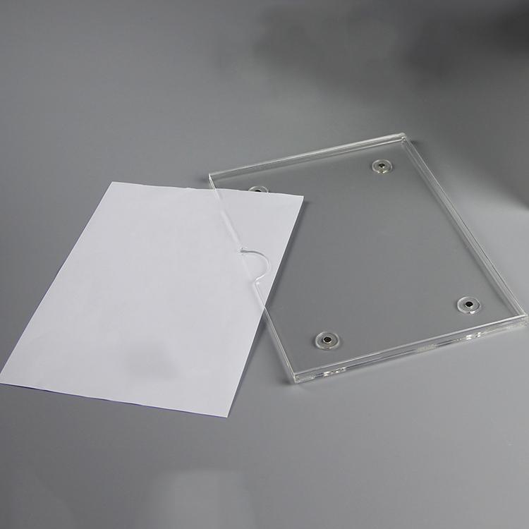 掛牆透明亞加力膠插槽