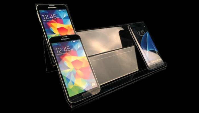 兩層手機展示架