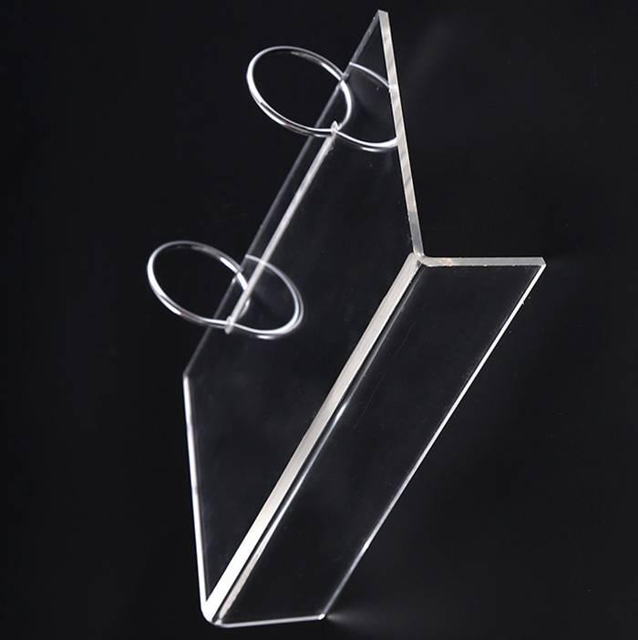 亞加力膠L型台歷架