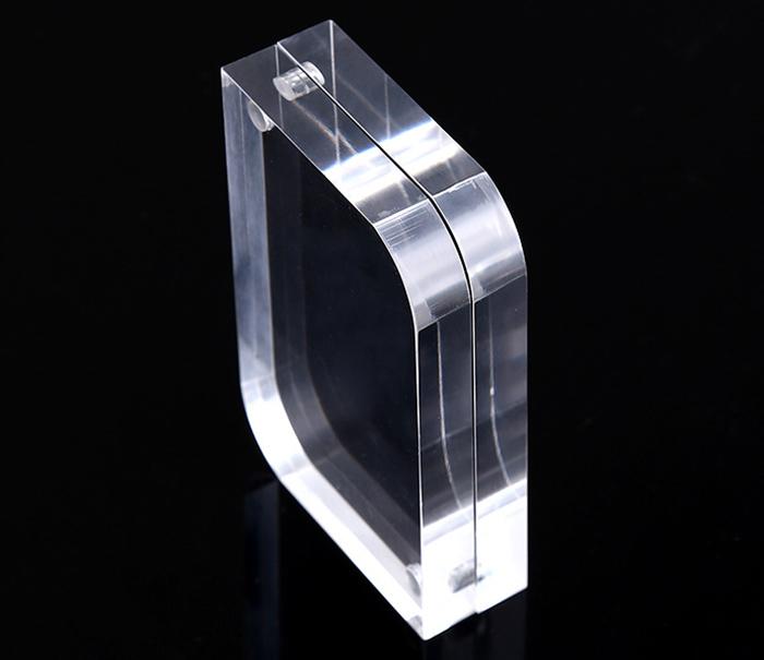 亞加力膠磁石相架(弧角)