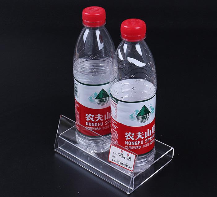 XH0204 雙孔透明膠商品展示架
