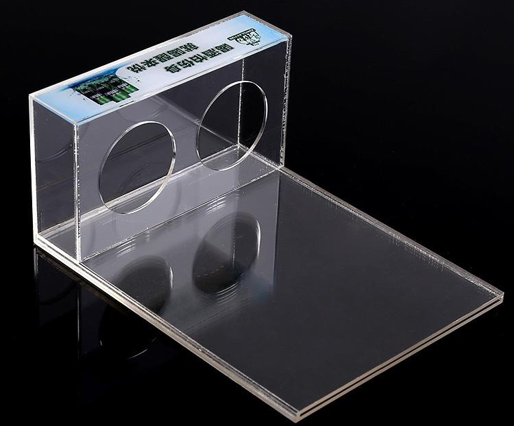 XH0208 桌面L型產品膠架(可換畫面)