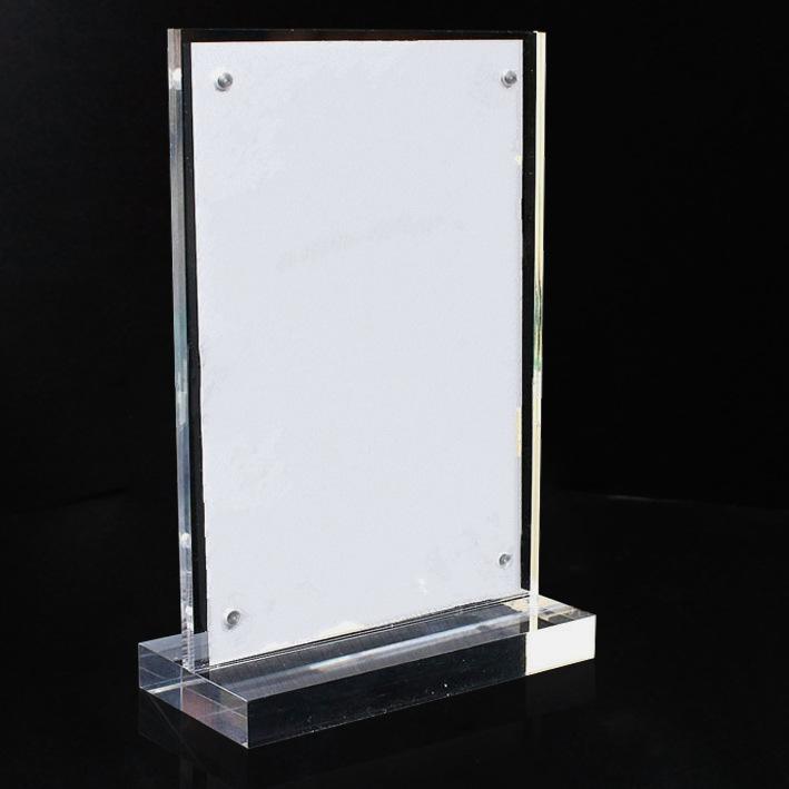 XH0210 透明亞加力磁石T型架
