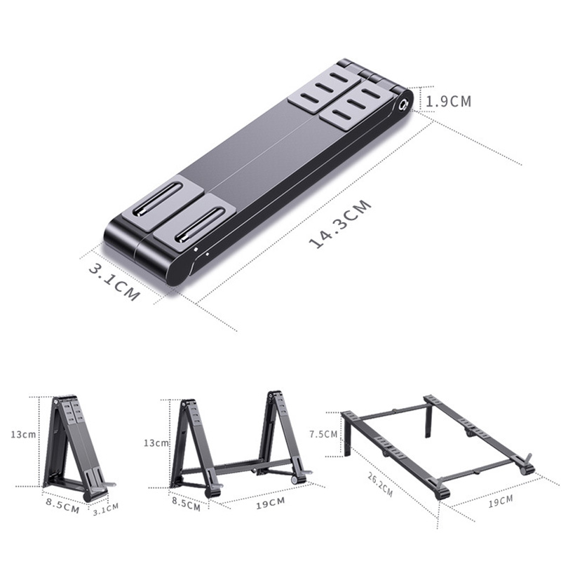 3合1多功能變形支架,手機平板電腦通用支架