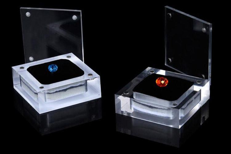 珠寶磁石透明盒