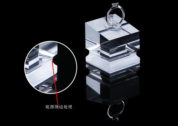 透明戒指座