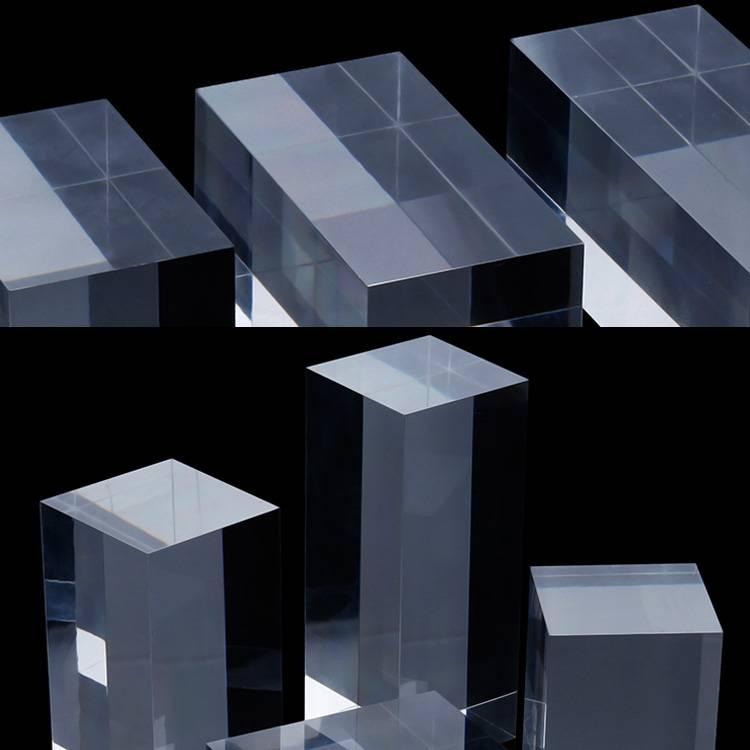 透明亞加力膠柱